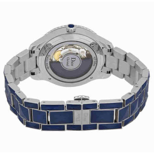 Dior Christal Blue Diamond Watch