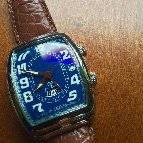 Dubey & Schaldenbrand GMT Alarm Sonnerie Automatic