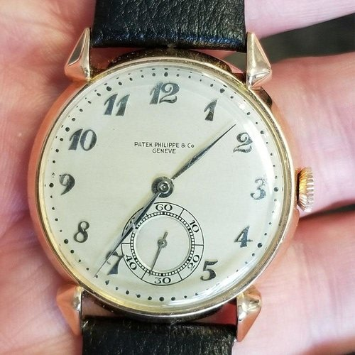 Patek Philippe Vintage Pink Gold Calatrava Chronograph