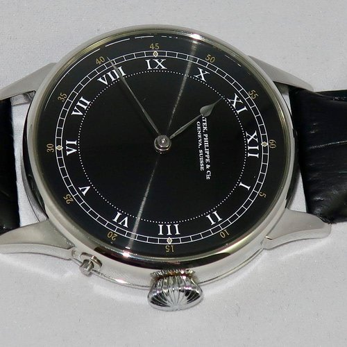 Patek Philippe Pre-1920 Signed with Exhibition Back