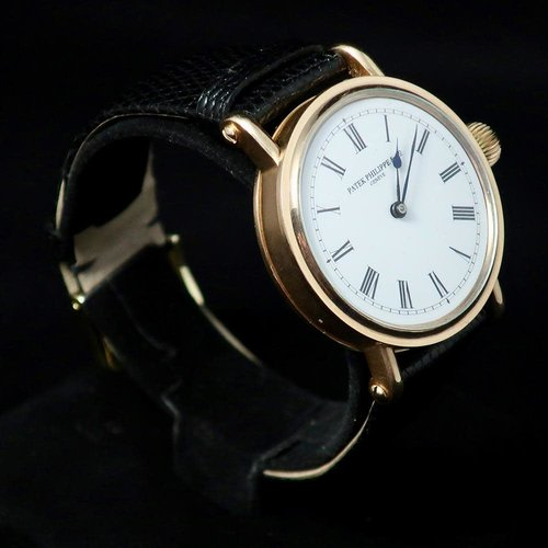 Patek Philippe Signed Solid 14kt. Gold Custom Made Case