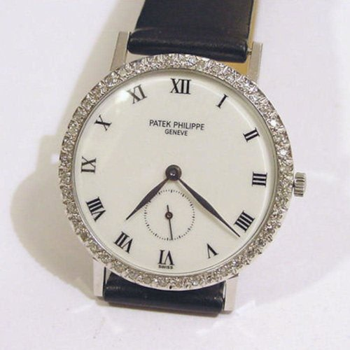 Patek Philippe Circa 1930 Solid 14kt. White Gold