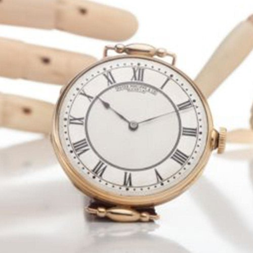 Patek Philippe Antique Movement with Solid Gold 18kt. Gold Case