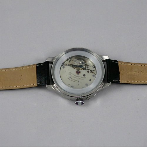 Patek Philippe 1925 Movement with Stunning Restored Dial and New Case