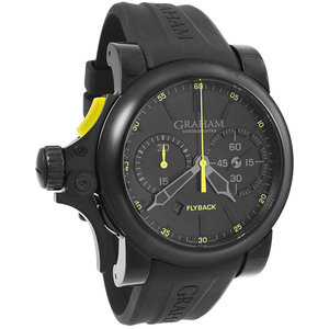 Graham Chronofighter Trigger Flyback Automatic Men's Watch