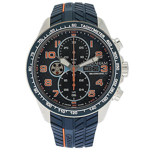Graham Silverstone RS Racing Chronograph Day/Date Automatic