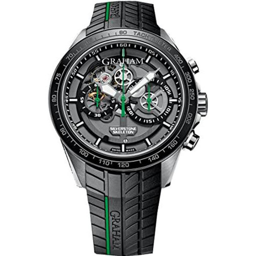 Graham Silverstone RS Skeleton 46mm Chronograph Automatic Men's Watch
