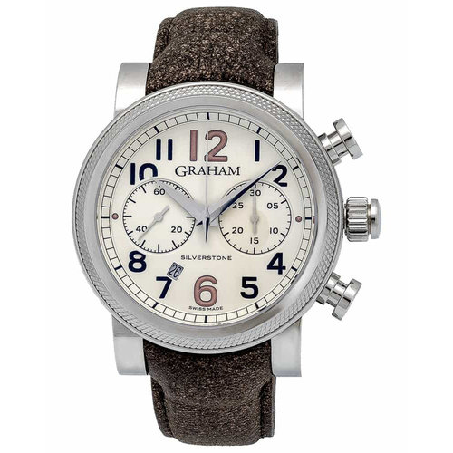 Graham Silverstone Vintage 30 Automatic Chronograph 47mm Men's Watch