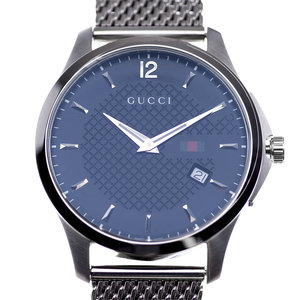 Gucci Timeless Black Checkered Dial