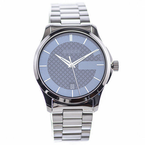 Gucci Timeless Blue Checkerboard Dial