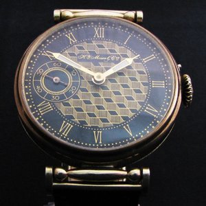 Henry Moser Men's Antique Watch