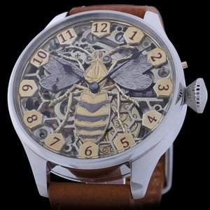 Hamilton Skeleton Beehive Watch