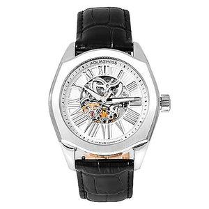 Aqua Swiss Men's 30GA001 Black/ Silver Legend Automatic Watch
