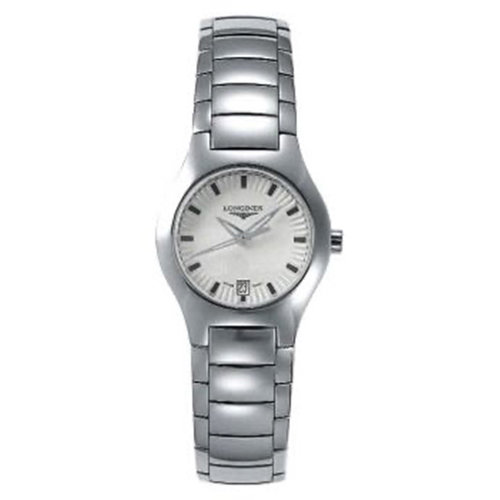 Longines Pre-owned Ladies Quartz Analog Stainless Steel Bracelet