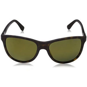 Prada SPR 205F Matte Havana/Mirror Sunglasses