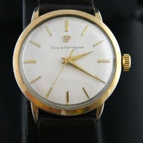 Girard-Perregaux Circa 1950 35mm Manual Wind Wristwatch