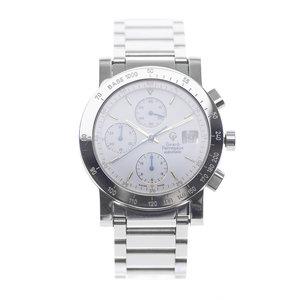 Girard-Perregaux GP 7000 Chronograph White Gold and Steel