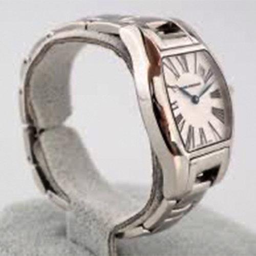 Girard-Perregaux Richeville Date Silver Dial Stainless Steel Quartz Ladies