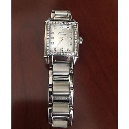 Girard-Perregaux Vintage 1945 Lady with a Diamond Encrusted Bezel