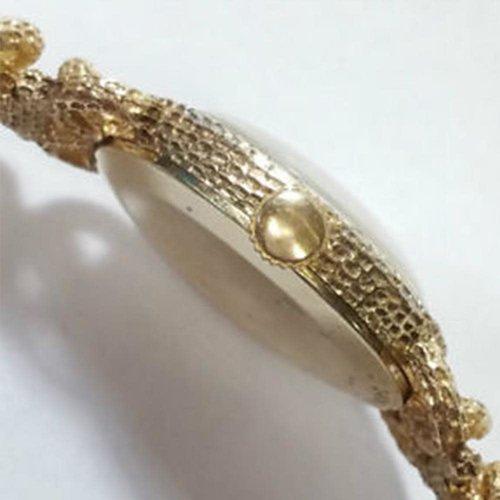 Girard-Perregaux 1960 Diamond Freeform 14kt. Gold Ladies Watch with Round Cut Diamonds (Color F-G/Clarity VSI-SII)