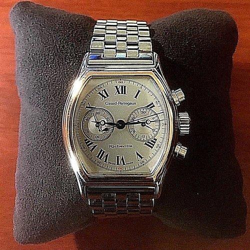 Girard-Perregaux Richeville Mens Automatic Chronograph