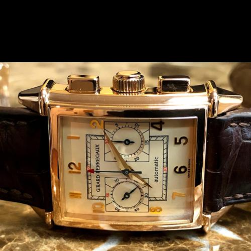 Girard-Perregaux Vintage 1945 18kt. Rose Gold