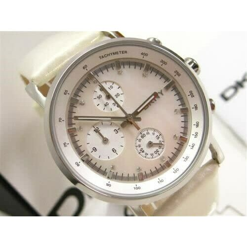 DKNY Tachymeter with Mother of Pearl Dial