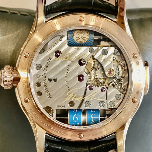 Maîtres du Temps Chapter Three Reveal - 18kt. Rose Gold