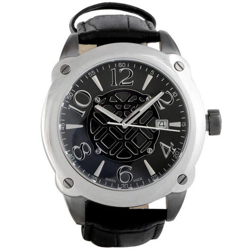 Montegrappa Fortuna Stainless Steel Watch