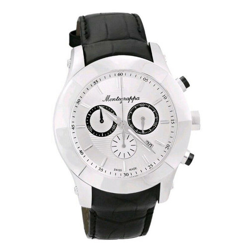 Montegrappa Nero Uno Chronograph Men's Swiss Made Watch