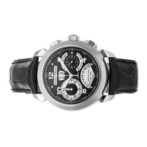 "Pierre DeRoche ""GrandCliff Retro Hour"" Chronograph Grand Date"