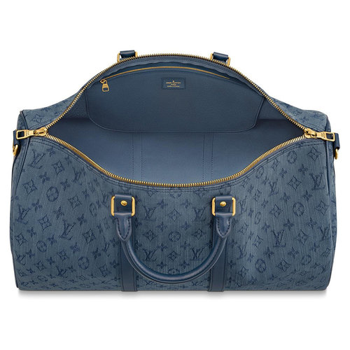 Louis Vuitton Keepall Bandoulière 50 Navy