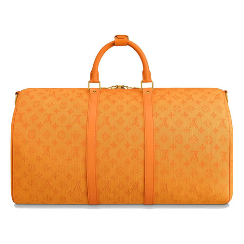 Louis Vuitton Keepall Bandouliere 50 Ocre
