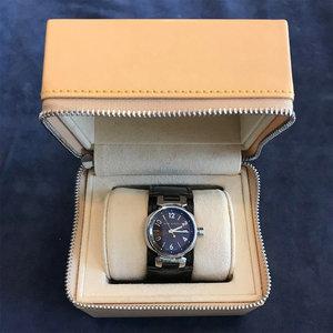Louis Vuitton Brown Tambour Ladies Watch
