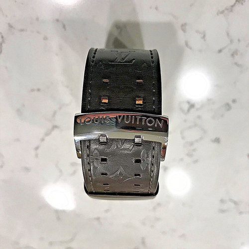 Louis Vuitton Brown Tambour Ladies Watch