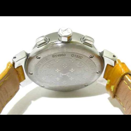 Louis Vuitton Tambour Chronograph Lovely Cup Q132C Women's Wrist Watch