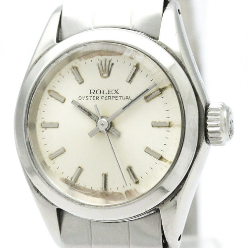 Rolex Vintage Oyster Perpetual Steel Automatic Ladies Watch