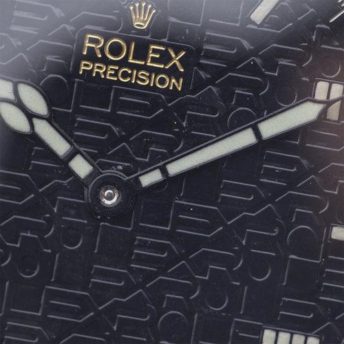 Rolex Vintage Rolex Watch with Rolex Raised Relief Logo Dial