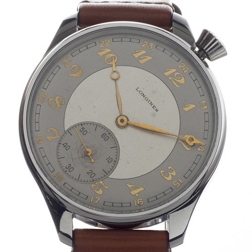 Longines Ultra Rare 1/4 Offset Dial & Crown