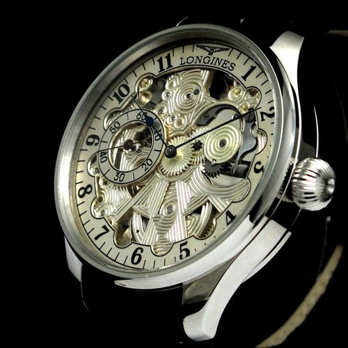 Longines Pre-1920's Skeleton Wristwatch