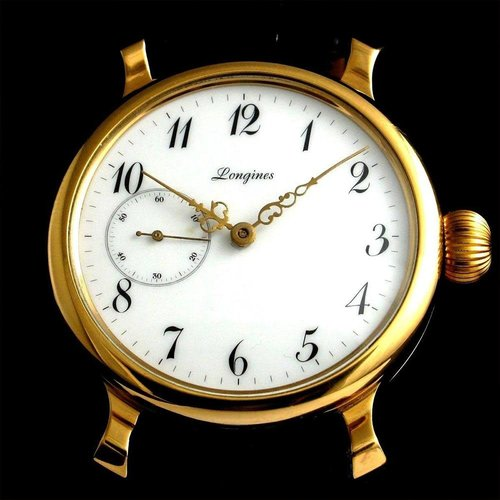 Longines 1919 Gold Wristwatch