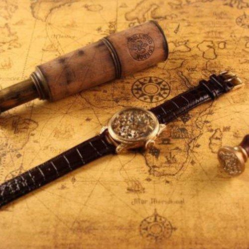 Longines Gold Skeleton Antique Wrist Watch