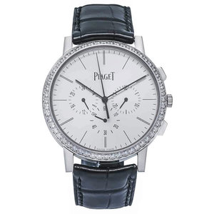 Piaget Altiplano Silver Dial 18kt. White Gold Diamond
