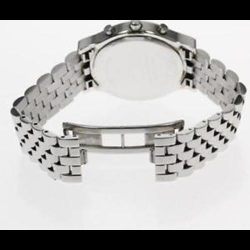 Tiffany & Co. Chronograph Stainless White Dial Quartz Men's Watch