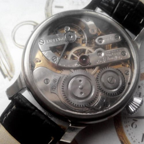 Tiffany & Co. Exquisite Pre-1920 Movement with Restored Original Dial and New Custom Case