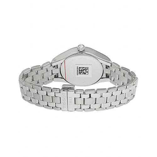 Tissot T Lady Date Silver Dial & Steel Quartz Ladies