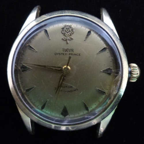 Tudor Vintage Oyster Prince Automatic Watch with Very Rare Rose Logo
