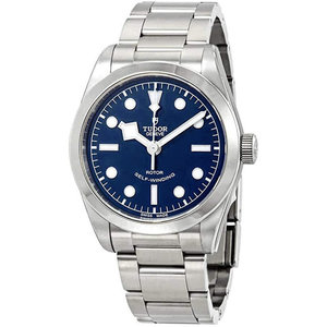 Tudor Heritage Black Bay Stainless Steel Automatic Blue Dial Men's Watch