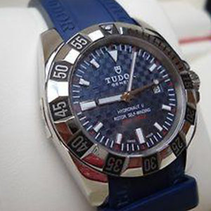 Tudor Hydronaut II 24030 Blue Dial and Blue Band