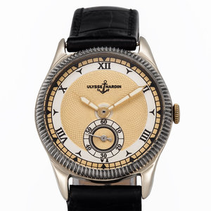 Ulysse Nardin Spectacular Watch Rare Aged Swiss Vintage Branded Caliber 17J
